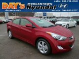 2013 Red Hyundai Elantra GLS #88667104
