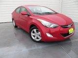 2013 Red Hyundai Elantra GLS #88667015