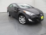 2013 Black Hyundai Elantra Limited #88667012
