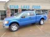 2014 Blue Flame Ford F150 XLT SuperCab 4x4 #88667131