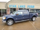 2014 Blue Jeans Ford F150 XLT SuperCrew 4x4 #88667130