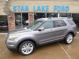 2014 Sterling Gray Ford Explorer Limited 4WD #88667129