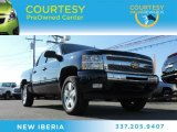 2011 Imperial Blue Metallic Chevrolet Silverado 1500 LT Crew Cab #88693392