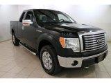 2011 Ebony Black Ford F150 XLT SuperCab 4x4 #88693328
