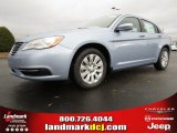 2014 Crystal Blue Pearl Chrysler 200 LX Sedan #88693077