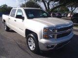 2014 White Diamond Tricoat Chevrolet Silverado 1500 LT Z71 Crew Cab 4x4 #88693447
