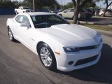 2014 Summit White Chevrolet Camaro LS Coupe #88693444