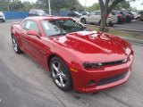 2014 Crystal Red Tintcoat Chevrolet Camaro LT Coupe #88693443