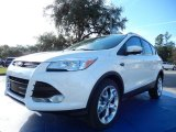 2014 White Platinum Ford Escape Titanium 2.0L EcoBoost #88693055