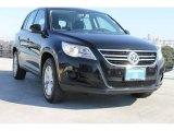2011 Deep Black Metallic Volkswagen Tiguan S #88693423