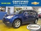 2010 Navy Blue Metallic Chevrolet Equinox LT AWD #88693303