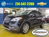 2013 Carbon Black Metallic Buick Encore Leather #88693302