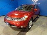 2006 Sunset Red Pearl Metallic Nissan Murano SL AWD #88692988