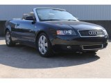 2004 Moro Blue Pearl Effect Audi A4 1.8T Cabriolet #88693401