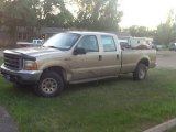 Harvest Gold Metallic Ford F250 Super Duty in 2000