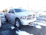 2011 Bright Silver Metallic Dodge Ram 1500 Big Horn Quad Cab 4x4 #88725014