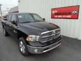 2014 Black Ram 1500 Big Horn Quad Cab 4x4 #88725102
