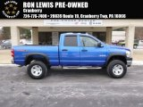 2008 Electric Blue Pearl Dodge Ram 1500 TRX4 Quad Cab 4x4 #88724631