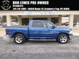 2011 Deep Water Blue Pearl Dodge Ram 1500 Big Horn Crew Cab 4x4 #88724629