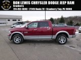 2014 Deep Cherry Red Crystal Pearl Ram 1500 Laramie Crew Cab 4x4 #88724623