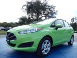 2014 Green Envy Ford Fiesta SE Sedan #88724617
