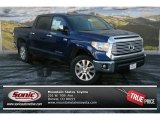 2014 Blue Ribbon Metallic Toyota Tundra Limited Crewmax 4x4 #88724437