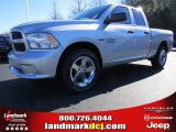 2014 Bright Silver Metallic Ram 1500 Express Quad Cab #88724705