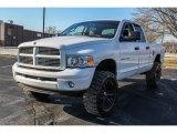 2004 Bright White Dodge Ram 1500 Laramie Quad Cab 4x4 #88724902