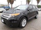 2014 Tuxedo Black Ford Explorer XLT #88724517