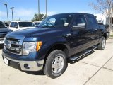 2014 Blue Jeans Ford F150 XLT SuperCrew #88724516
