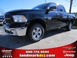 2014 Black Ram 1500 SLT Crew Cab 4x4 #88724699