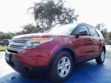 2014 Ruby Red Ford Explorer FWD #88724605