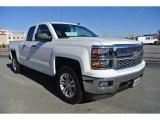 2014 Summit White Chevrolet Silverado 1500 LT Double Cab 4x4 #88724979