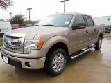 2013 Pale Adobe Metallic Ford F150 XLT SuperCrew #88724505