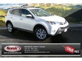 2013 Blizzard White Pearl Toyota RAV4 Limited AWD #88724411