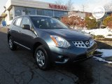 2013 Graphite Blue Nissan Rogue S AWD #88724592