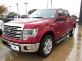 2013 Ruby Red Metallic Ford F150 Lariat SuperCrew #88724497