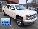 2014 White Diamond Tricoat Chevrolet Silverado 1500 LT Crew Cab 4x4 #88724495