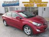 2013 Red Hyundai Elantra GLS #88724400