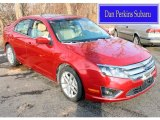 2010 Sangria Red Metallic Ford Fusion SEL #88724392