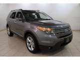 2013 Sterling Gray Metallic Ford Explorer Limited 4WD #88724963