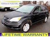 2011 Crystal Black Pearl Honda CR-V EX-L 4WD #88724568