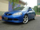2005 Vivid Blue Pearl Acura RSX Type S Sports Coupe #8850327