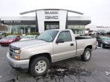 Silver Birch Metallic Chevrolet Silverado 1500 in 2006