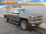 2014 Brownstone Metallic Chevrolet Silverado 1500 High Country Crew Cab 4x4 #88724472