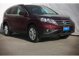 2014 Basque Red Pearl II Honda CR-V EX-L #88724748
