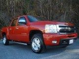 2011 Victory Red Chevrolet Silverado 1500 LTZ Crew Cab 4x4 #88725034