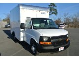 2014 Summit White Chevrolet Express Cutaway 3500 Moving Van #88770153