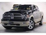 2012 Black Dodge Ram 1500 Laramie Longhorn Crew Cab 4x4 #88769769