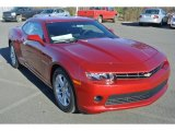 2014 Crystal Red Tintcoat Chevrolet Camaro LT Coupe #88770147